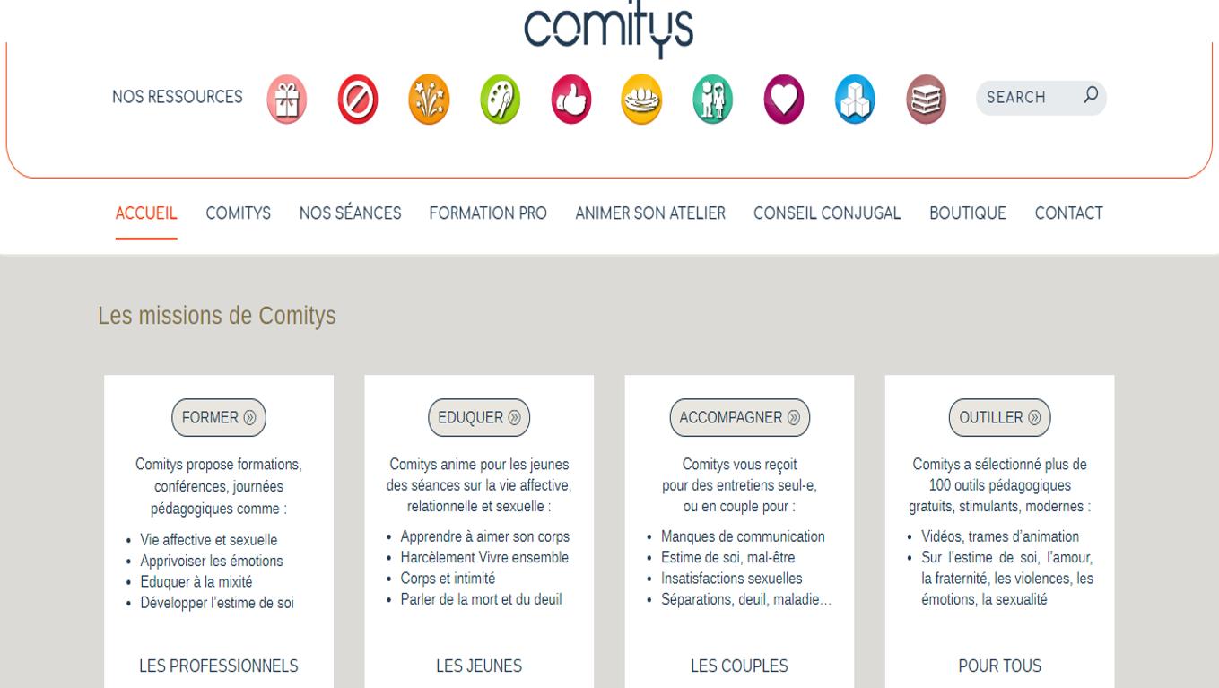 Site de Comitys