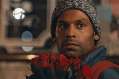 Le vendeur de roses