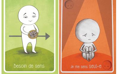 Cartes émotions et cartes besoins -CNV