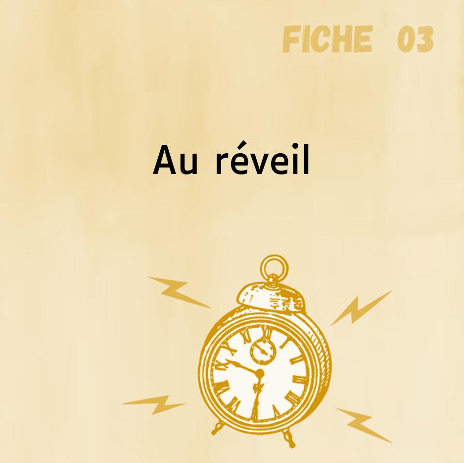 Comitys - Fiche 3 : Au réveil