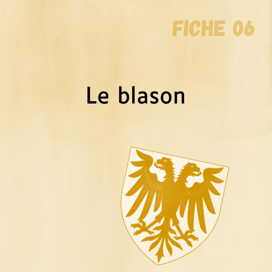 Fiche 6 : Le blason